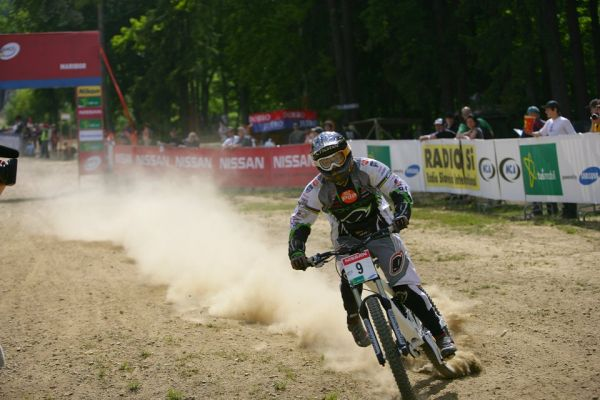 SP DH #1 Maribor 2008 Floraine Pugin
