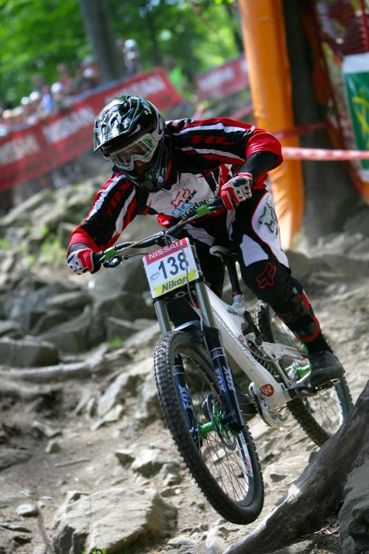 SP DH #1 Maribor 2008 Will Longden