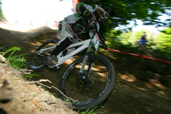 SP DH #1 Maribor 2008 DAvid Vazquez