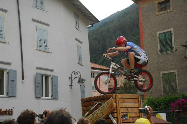 """MS MTB 2008 Val di Sole - Trial 20"""" junioři: Václav Kolář"""