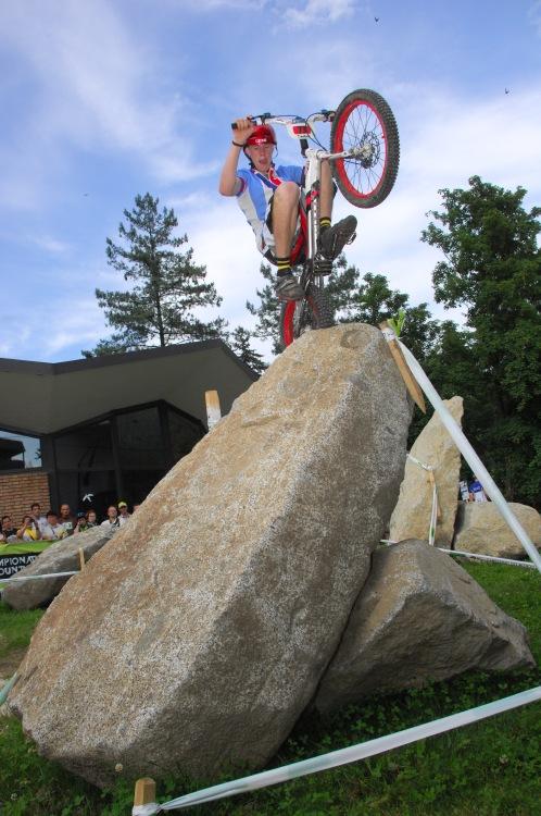 """MS MTB 2008 Val di Sole - Trial 20"""" junioři:"""