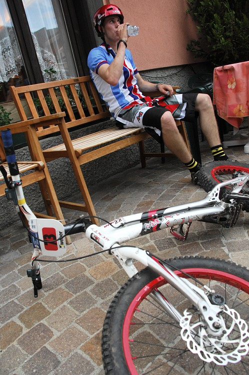 "MS MTB 2008 Val di Sole - Trial 20"" junio�i: V�clav Kol��"