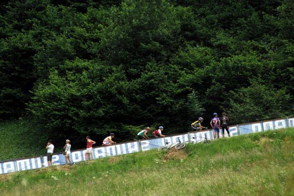 MS 2008 Val di Sole - muži U23: nejtěžší stoupání