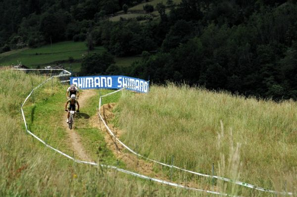 MS 2008 Val di Sole - muži U23: Stander a Schurter na čele