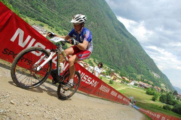 MS 2008 Val di Sole - muži U23: nějtěžší stoupání