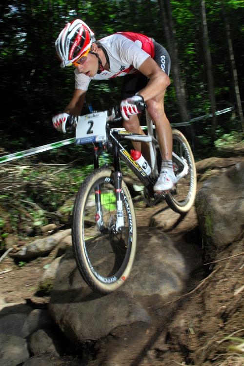 MS 2008 Val di Sole - muži U23: Nino Schurter