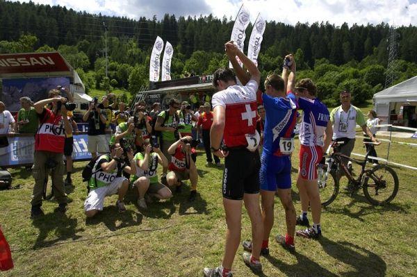 UCI MTB Wolrd Championship 2008 - Val di Sole/ITA - 19.6. - fotografování nejlepších
