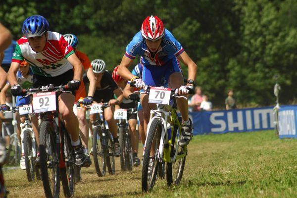 MS MTB 08 Val di Sole - XC junio�i: Ond�ej Cink se prob�j� ze zadn�ch pozic