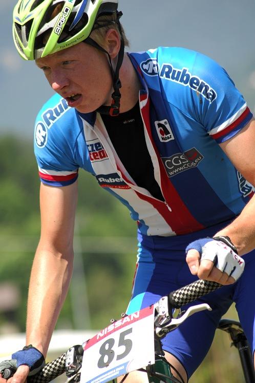 MS MTB 08 Val di Sole - XC junioři: Jan Nesvadba ve druhém kole