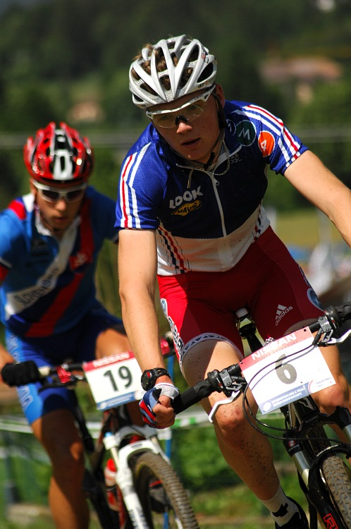 MS MTB 08 Val di Sole - XC junioři: Arnaud Jouffroy /FRA/
