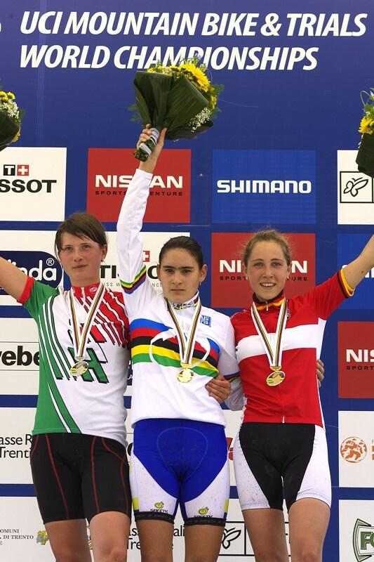 UCI MTB World Championship 2008 - Val di Sole/ITA - 18.6. - 1. Abril, 2. Benko, 3. Eiberweiser