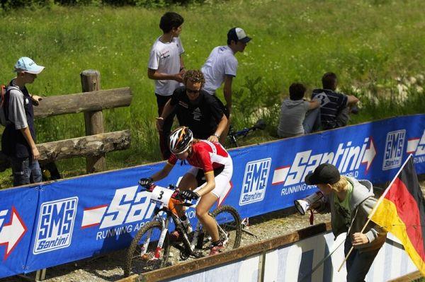 UCI MTB World Championship 2008 - Val di Sole/ITA - 18.6. -Eiberweiser a jej� fandov�