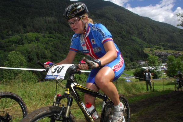 MS MTB 2008 Val di Sole: XC juniorky - Markéta Sládková