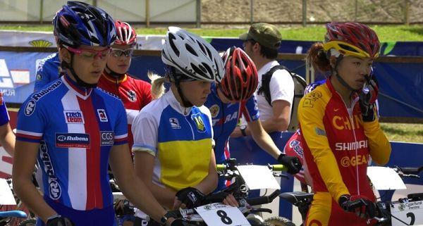 UCI MTB World Championship 2008 - Val di Sole/ITA - 18.6. - soust�ed�n� na startu