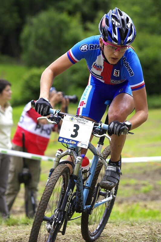 UCI MTB World Championship 2008 - Val di Sole/ITA - 18.6. - Tereza Hu��kov�