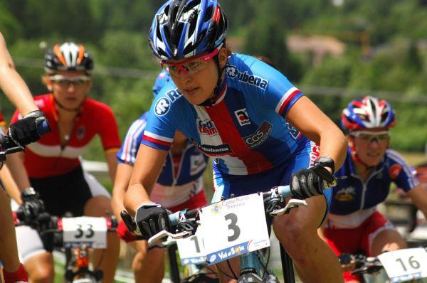 MS MTB 2008 Val di Sole - ženy U23: Tereza Huříková