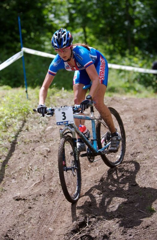 MS 2008 Val di sole ženy do 23 Tereza Huříková