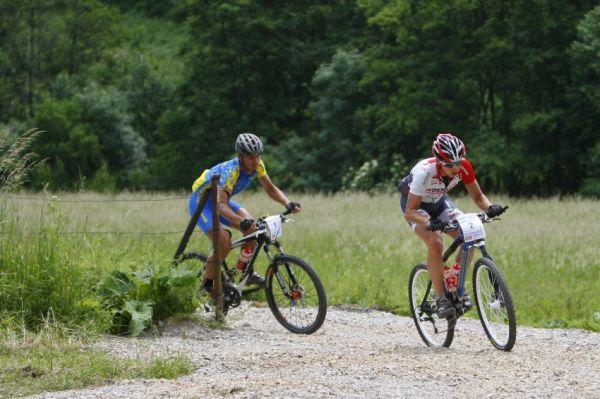 Giant Berounský BikeMaraton 2008: Hudeček a Hruška na čele