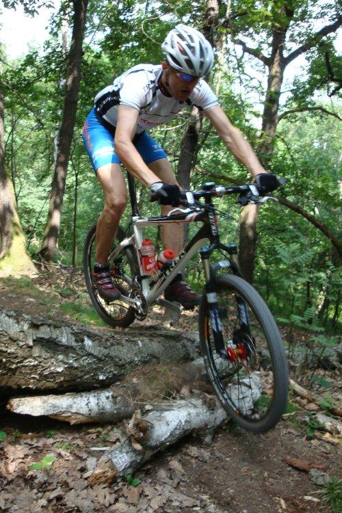 Trať ČP XCM #2 Specialized Extrém Bike Most 2008 /foto: Tomáš Trunschka/