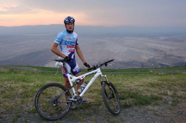 Trať ČP XCM #2 Specialized Extrém Bike Most 2008 /foto: Tomáš Trunschka/ - tak tudy se nepojede!