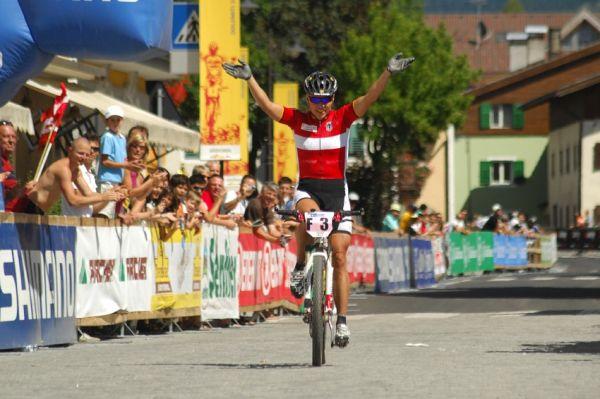 MS Maraton 2008 - Villabassa /ITA/ - Sabine Spitz druhá