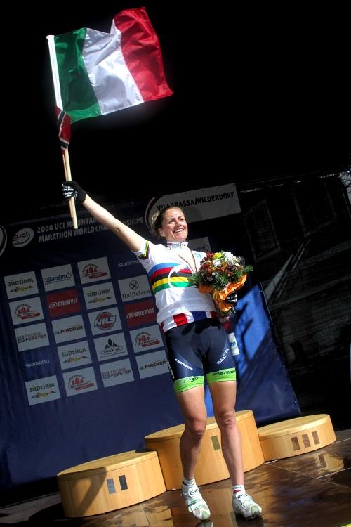 MS Maraton 2008 - Villabassa /ITA/ - Gunn Rita Dahle