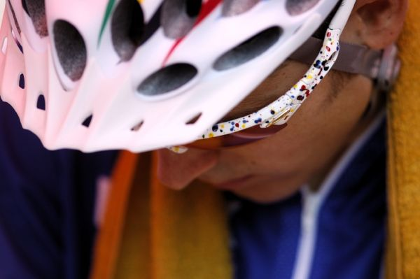 MS MTB Val di Sole '08 - XC Elite: soustředěný Julien Absalon