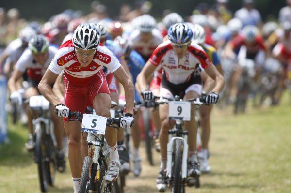 MS MTB Val di Sole '08 - XC Elite: nejlepší startovní reakci měl Jakob Fuglsang