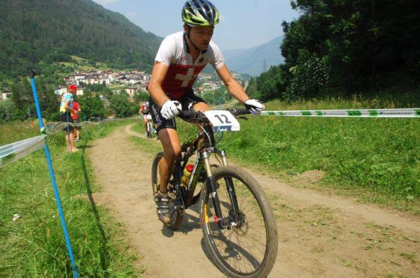 MS MTB Val di Sole '08 - XC Elite: Ralph Naef se fam�zn� probojoval k bronzu