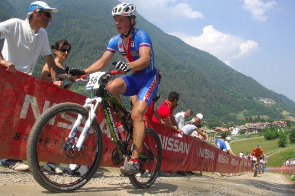 MS MTB Val di Sole '08 - XC Elite: Jiří Friedl