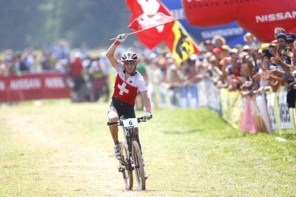 MS MTB Val di Sole '08 - XC Elite: Florian Vogel druhý