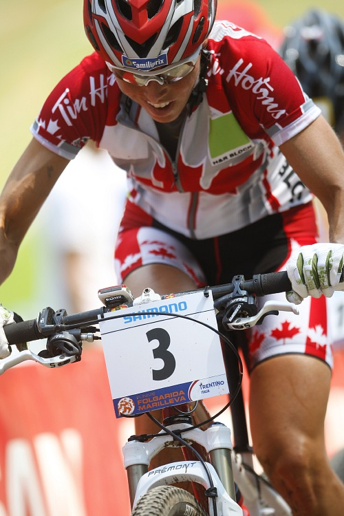 MS MTB 2008 Val di Sole - XC ženy: Marie Helene Premont