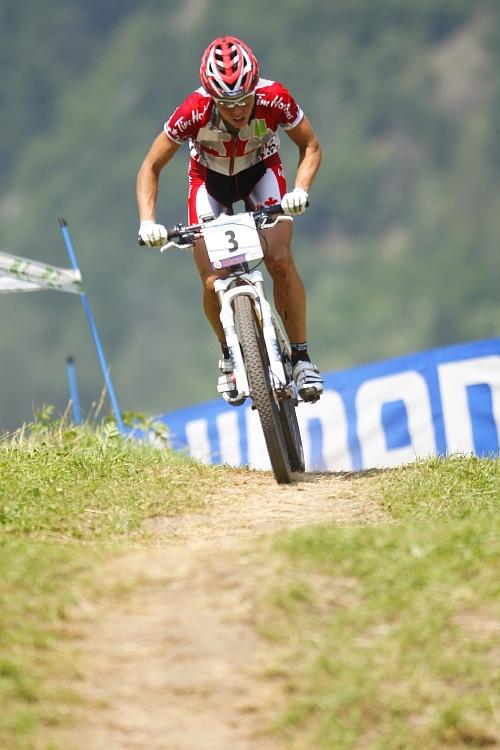 MS MTB 2008 Val di Sole - XC ženy: Marie Helene Premont