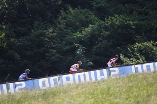 MS MTB 2008 Val di Sole - XC ženy: vecoucí trojice
