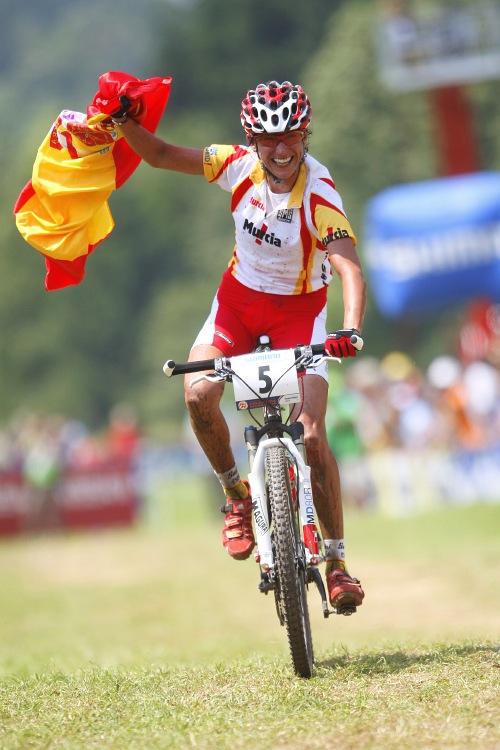 MS MTB 2008 Val di Sole - XC ženy: Fullana vítězí