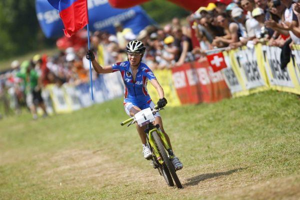MS MTB 2008 Val di Sole - XC ženy: Kalentieva třetí