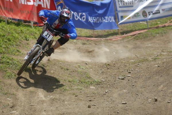 MS MTB 2008 Val di Sole /ITA/ - Downhill: Katarina Tothová