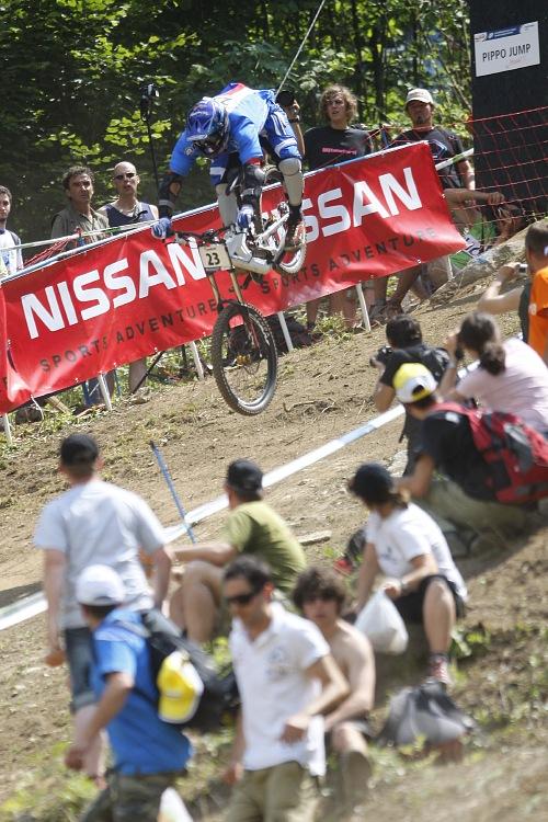 MS MTB 2008 Val di Sole /ITA/ - Downhill: Adam Hein�k V�gner