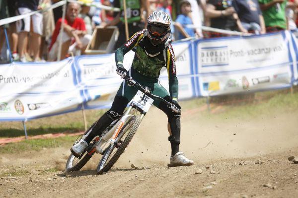 MS MTB 2008 Val di Sole /ITA/ - Downhill: žádnej motokros! Plochá dráha!