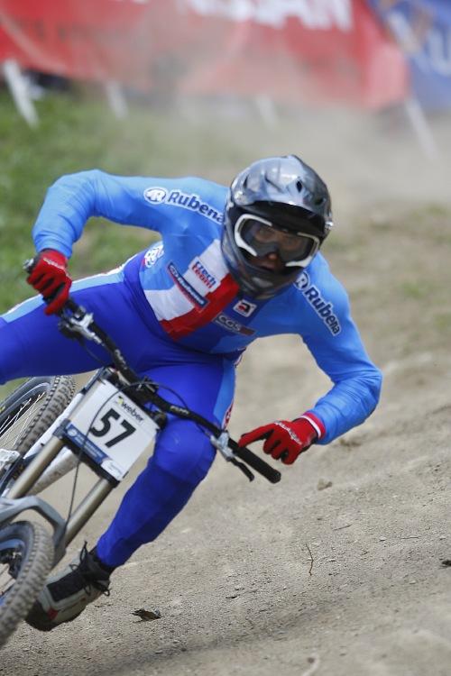 MS MTB 2008 Val di Sole /ITA/ - Downhill: Matěj Charvát