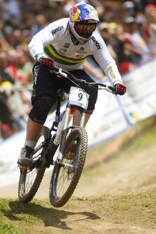 MS MTB 2008 Val di Sole /ITA/ - Downhill: Nathan Rennie