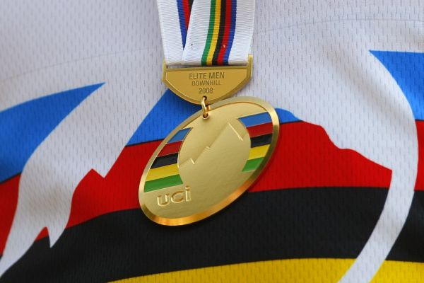 MS MTB 2008 Val di Sole /ITA/ - Downhill: zlatá medaile