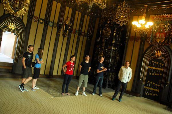 Pražské schody 2008: prohlídka staroměstské radnice