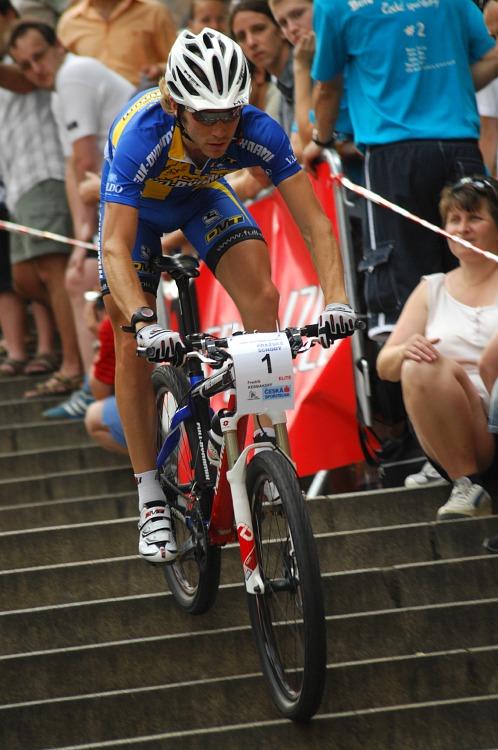 Pražské schody 2008: Fredrik Kessiakoff