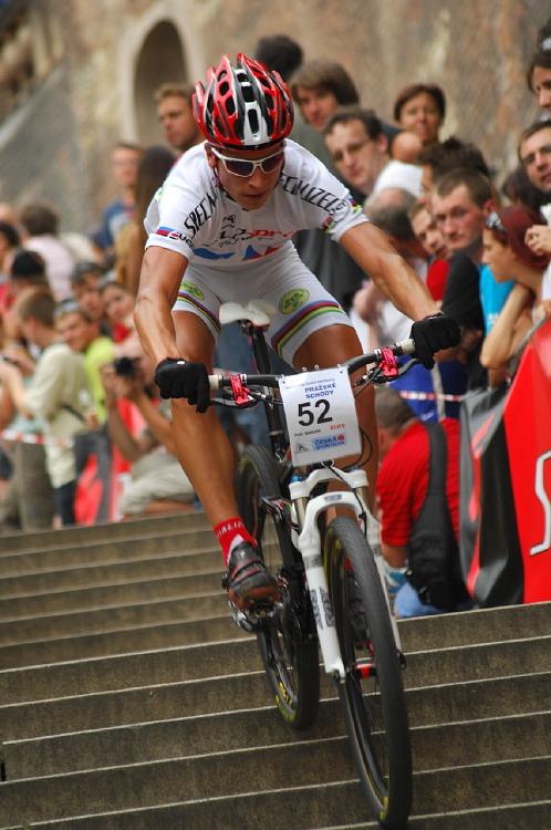 Pražské schody 2008: Mistr světa Peter Sagan
