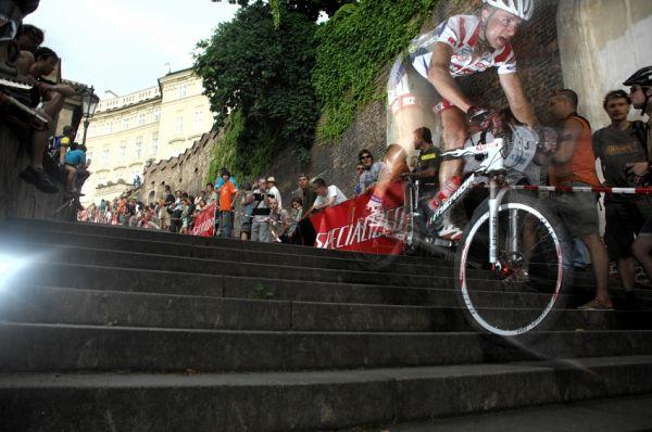 Pražské schody 2008: David Jaroš