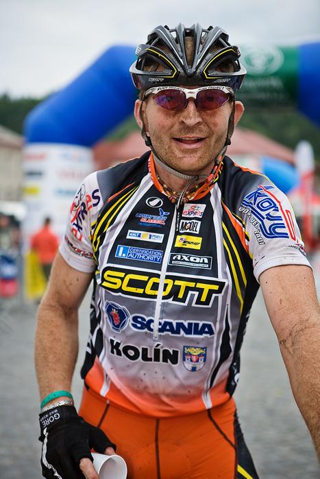 Znojmo Znovín maraton Cup 2008 - Apache Jestřebí Hory 21.6. - Jan Slavíček, Foto: Miloš Lubas
