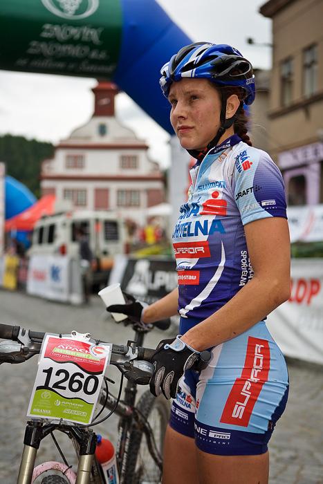 Znojmo Znovín maraton Cup 2008 - Apache Jestřebí Hory 21.6. - Tereza Jansová, Foto: Miloš Lubas