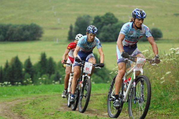 XI. BELL Šumavský maraton '08: Pavel Zerzan a Matěj Nepustil