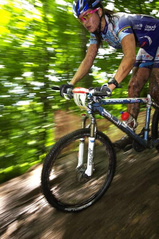 Nissan UCI MTB World Cup XC#6 - Mont St. Anne 27.7. 2008 - Tereza Huříková